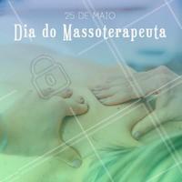 Hoje é o dia do Massoterapeuta, parabéns aos profissionais da área. #massoterapia #ahazou #massoterapeuta #massagem #saúde #bemestar