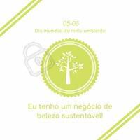 """""""Um negócio sustentável é aquele que garante o equilíbrio do meio ambiente e usa procedimentos éticos."""" Feliz Dia Mundial do Meio Ambiente! 🌳 #diadomeioambiente #ahazou #meioambiente #natureza #sustentabilidade"""