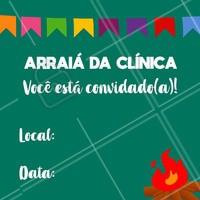 Venha festejar com a gente! Você é nosso convidado especial para curtir a festa de São João no salão! 🎉 #festajunina #ahazou #saojoao #estetica #clinicadeestetica