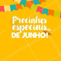 Corre pra aproveitar nossos preços especiais nesse mês de São João! 🎉 #festajunina #ahazou #junho #beleza