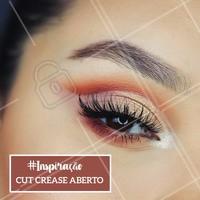 Que tal essa inspiração de make? 😍 #maquiagem #ahazou #cutcrease #cutcreaseaberto #makeup