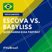 Coloca aqui nos comentários qual seu favorito! 💚💛 #copa #brasil #ahazou #futebol #hexa #hexacampeao #vaibrasil #cabelo #babyliss #escova #ahazounacopa