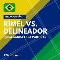 E aí, se pudesse escolher só um qual seria? 😱 #copa #brasil #ahazou #futebol #hexa #hexacampeao #vaibrasil #cabelo #maquiagem #rimel #delineador #ahazounacopa