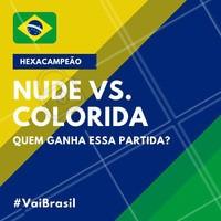 Qual unha você ama mais? 🤔 #copa #brasil #ahazou #futebol #hexa #hexacampeao #vaibrasil #unha #esmalte #ahazounacopa