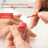 Parabéns Manicures ❤️️ #ahazou #manicure #ahazoumanicures #unhas #nailart #nail