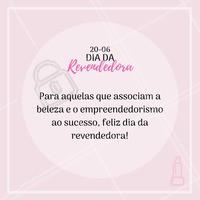 Hoje é dia da revendedora! Feliz dia para todas as guerreiras que buscam seu sucesso atrelado a beleza e ao empreendedorismo! 😍 #diadorevendedor #revendedora #consultoradebeleza #girlpower #ahazou #empreededorismo #beleza