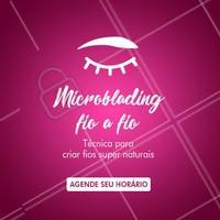 Você conhece a técnica Microblading fio a fio? É uma técnica que deixa as suas sobrancelhas lindas e com visual super natural. Aproveite e agende um horário. #sobrancelhas #ahazousobrancelhas #microblading #ahazou #dica #técnica #agendeseuhorário