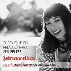 Com sobrancelhas maravilhosas, a vida é só sorrisos! 😁 #sobrancelha #ahazou #designdesobrancelha
