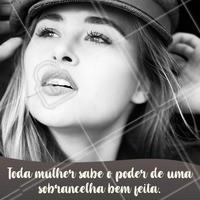 Sobrancelha bem feita é outra coisa, né? 😏 #sobrancelha #designdesobrancelha #ahazou