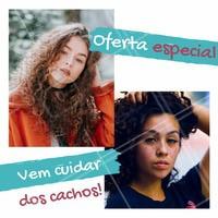 Atenção, meninas! Essa semana está recheada de preços especiais! Vem conferir! #promocao #ahazou  #ahazoucabelo #cachos