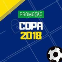 Bora aproveitar a Copa do jeito que a gente mais gosta: com muita promoção! 😍⚽️ #copa #brasil #ahazou #beleza #jogodobrasil #promocao #ahazounacopa