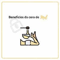 A cera de mel produzida por abelhas da gênero Apis, é bastante utilizada em tratamentos variados, trazendo benefícios como restauração da pele no tratamento de feridas ou machucados, hidratando e diminuindo a oleosidade a pele. Entretanto, consulte sempre um profissional e siga suas recomendações. #estética #ahazouestética #mel #ahazou #cera #tratamento