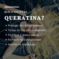 Tratamentos com queratina são ótimos para cabelos super fragilizados e quebradiços! #queratina #ahazou #cabelo #cuidadoscomocabelo