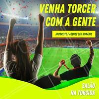 Já estamos na torcida e você? Aproveite e agende seu horário e não deixe de vir torcer com a gente. #cabelo #ahazoucabelo #torcida #copa #brasil #vaibrasil