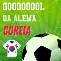 E acabou o jogo Alemanha 0 x  2 Coreia do Sul. #meme #ahazounacopa #ahazou #torcida #brasil