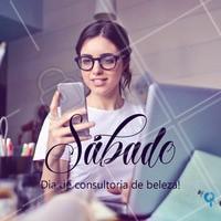 Sábado também é dia de consultoria de beleza! Entre em contato 📱 (xx)xxxxx-xxxx #consultoradebeleza #ahazou #marcas #revendedora