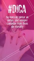 #manicure #dica #ahazou #pedicure