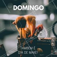 Todo dia é dia de make! 💄#maquiagem #ahazou #domingo