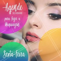 Já agendou seu horário hoje? #maquiagem #ahazoumaquiagem #ahazou #makeup #beleza #agendamento