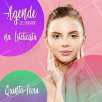 Já agendou seu horário hoje? #esteticista #ahazouestética #ahazou #estéticafacial #beleza #agendamento