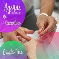 Já agendou seu horário hoje? #acupuntura #ahazouacupuntura #ahazou #acupunturista #agendamento #tratamento