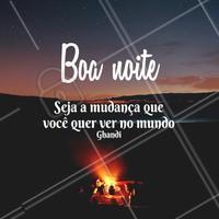 Uma noite iluminada para você 🙏 #boanoite #ahazou #motivacional