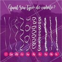 Você sabia que existem vários tipos de cabelo? Confira qual é o seu e descubra com a gente qual o tratamento mais adequado para as suas madeixas! #cabelo #cabelofeminino #ahazou #ahazoucabelo #madeixas #dica
