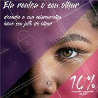 Já te disseram que um olhar diz tudo? Então aproveite essa promoção pra realçar esse olhar com uma sobrancelha linda! #designdesobrancelhas #sobrancelhas #ahazou #ahazousobrancelhas #desconto #motivacional #promocao
