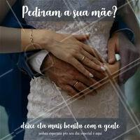 Pra um dia especial que nem o seu casamento, é necessário uma unha especial. Marque com a gente! #unha #manicure #ahazou #ahazouunhas #casamento #motivacional