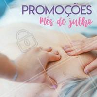 Aproveite nossos precinhos especiais do mês de Julho! #massagem #ahazou #massoterapia #massagemahazou #promocao #manicure