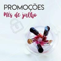 Aproveite nossos precinhos especiais do mês de Julho! #revendedoras #ahazou #revendedorasahazou #consultoradebeleza #promocao