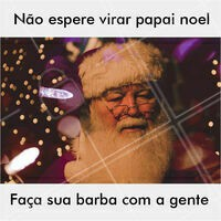Eaí, vai ficar pra noel? #barba #meme #ahazou #engraçado #noel