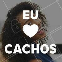 Post exclusivo para as amantes de seus cachos!!! #cachos #cabelo #ahazou #ahazoucabelo #feminino #motivacional