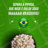 E aí, já está na torcida? #vaibrasil #ahazounacopa #torcida