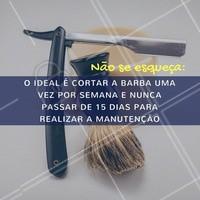 Vale lembrar!  #barbearia #ahazou #ahazoubarbearia #barber #cuidadoscomabarba