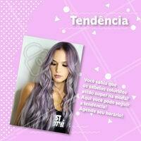 Você quer seguir a tendência? Marque já seu horário com a gente! #cabelo #ahazou #ahazoucabelo #tendencia