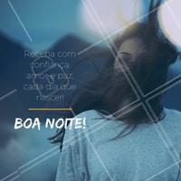 Uma ótima noite para todas! #boanoite #ahazou #motivacional