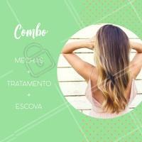 Olha só essa promoção! Agora não tem desculpa para ficar linda! #mechas #loiras #cabeloperfeito #loiro #ahazoucabelo #ahazou #promocional #cabelo