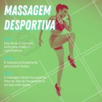Já conhece a massagem desportiva? Separamos algumas dicas. Aproveite e agende seu horário. #massagem #ahazoumassagem #massagemdesportiva #ahazou #esportes