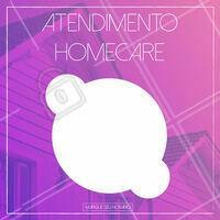 Traga mais praticidade pra sua vida e aproveite nosso atendimento no conforto da sua casa!  #homecare #ahazou