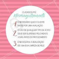 Quer saber como se preparar para a sua sessão de microagulhamento? Se liga nessas dicas!  #microagulhamento #peleperfeita #estéticafacial #ahazouestetica #ahazou