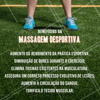 Já conhece a massagem desportiva? Marque o seu horário!  #massagemdesportiva #massagem ##ahazoumassagem  #esportes