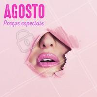 Preços especiais para agosto, aproveite. #ahazou #maquiagem #make #beauty