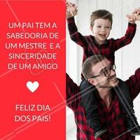 Um dia maravilhoso a todos os pais!  #ahazou #diadospais