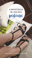 #stories #ahazou #pedicure