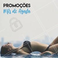 Aproveite os precinhos especiais de Agosto!  #promocional #ahazou #estéticacorporal