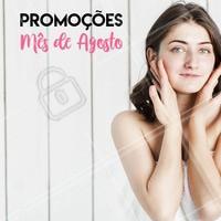 Aproveite os precinhos especiais do mês!  #estéticafacial #ahazou #promocional