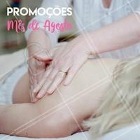 Olha só os precinhos especias desse mês!   #massagem #ahazou #promocional