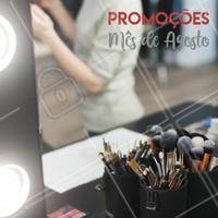 Aproveite os precinhos especiais de Agosto!  #promocional #ahazou #maquiagem