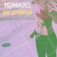 Olha só as promoções que separamos para você!  #estéticacorporal #ahazou #promocional